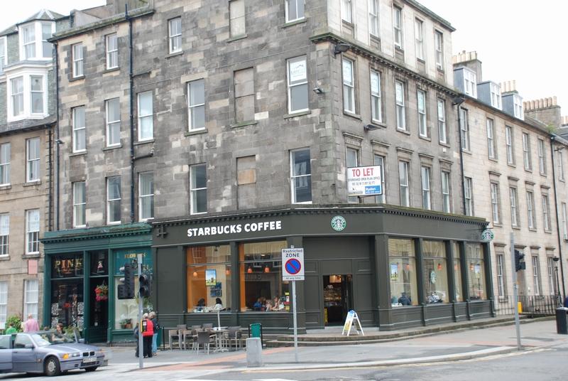 Starbucks In Edinburgh
